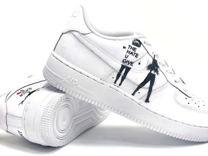 Stompin' Out The Haters: 'The Hate U Give' Inspires Custom Air Force 1's [Photos]