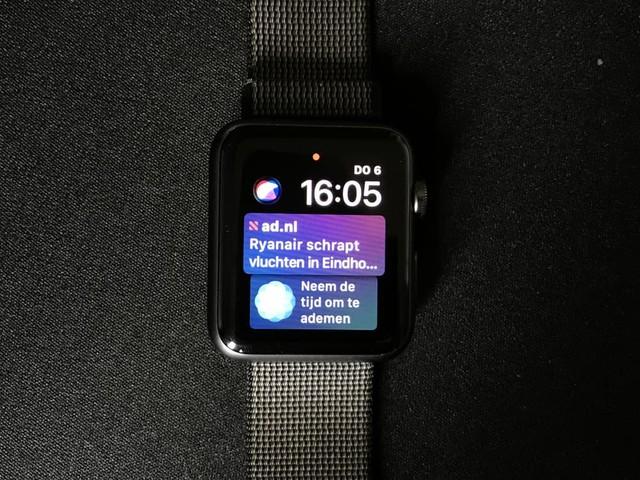WatchOS 4 update verschijnt 19 september
