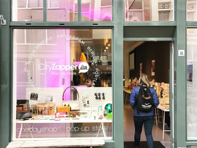 Nu geopend: de CityZapper Pop-Up Store