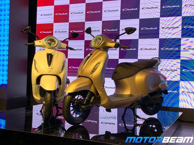 Bajaj Reverts To Chetak Design Criticism By Tata