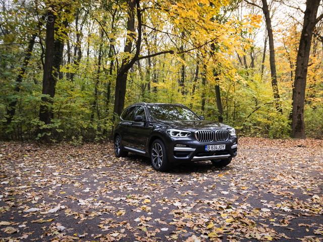 TEST DRIVE: BMW X3 xDrive20d