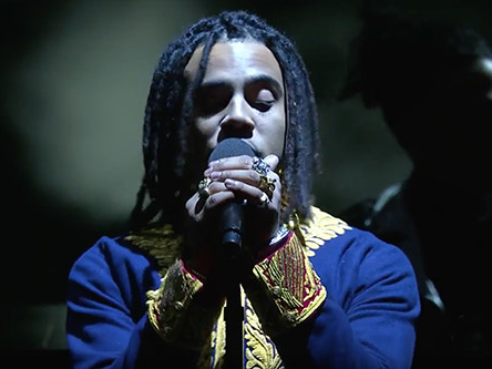 "Vic Mensa Performs ""We Could Be Free"" on The Late Show"