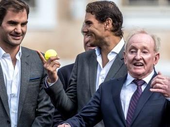 Nadal en Federer samen in Europees team