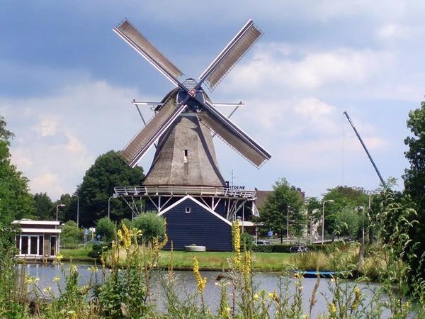 Ambacht molenaar immaterieel erfgoed, wieken De Passiebloem Zwolle in 'vreugdestand'