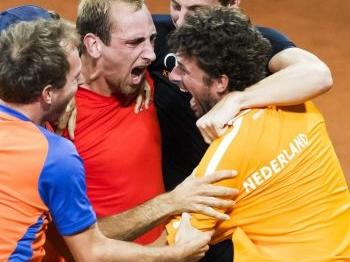 Nederland loot Frankrijk in Davis Cup
