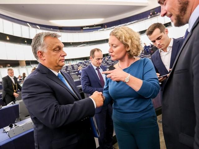 Europarlementariër Judith Sargentini is de schrik van Hongarije