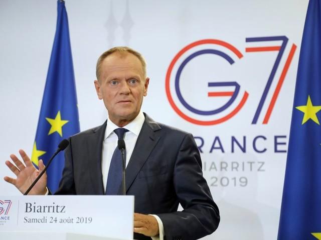 Tusk: Rusland kan terugkeer bij G7 vergeten