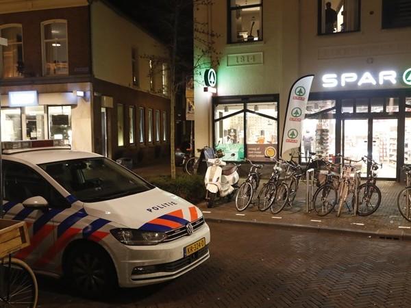 Gewapende overval op supermarkt in binnenstad Zwolle