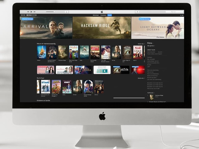 Apple labelt films met 4K en HDR binnen iTunes