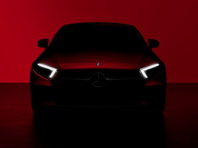 2019 Mercedes-Benz CLS teased ahead of its LA debut