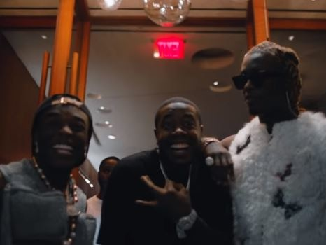 """Young Thug & Lil Uzi Vert Team Up for """"What's The Move"""": Watch"""