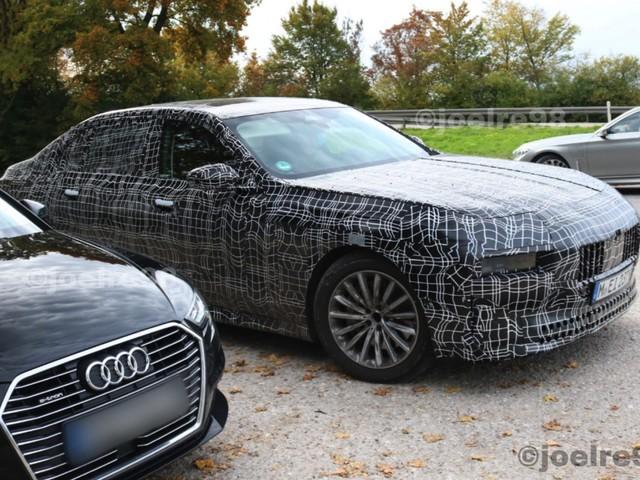 2022 BMW 7 Series (G70) spy photos show some interesting design cues