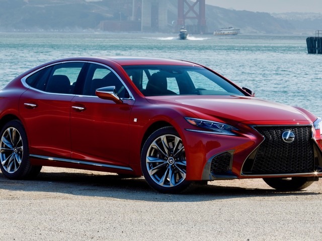2018 Lexus LS priced at $75,995