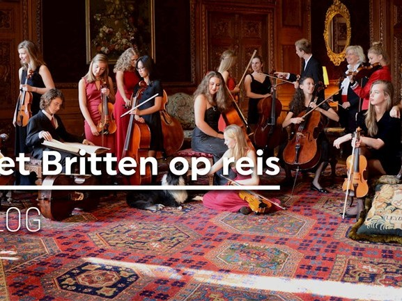 DAG 3. Het Britten Jeugdstrijkorkest op reis: het vertrek en eerste optreden in Denemarken