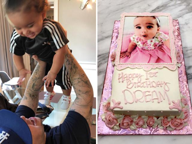 Rob Kardashian Resurfaces For Daughter Dream's First Birthday