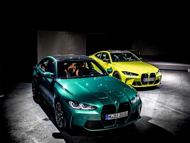 We bring you high-quality, real-life photos of the new BMW M3 and M4