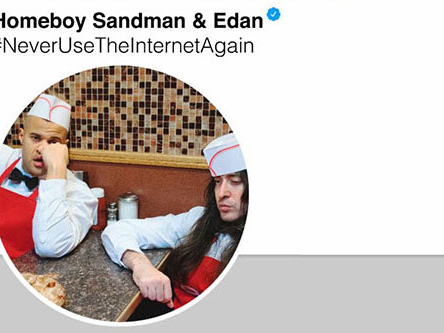 "Homeboy Sandman & Edan Vow to ""Never Use the Internet Again"""