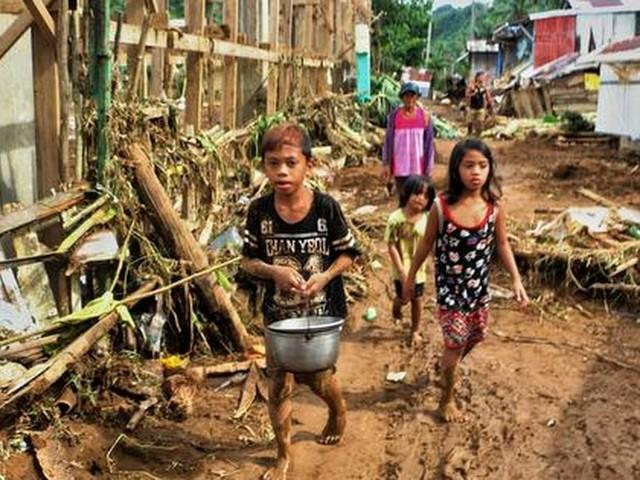 Doden door tropische storm op Filipijnen