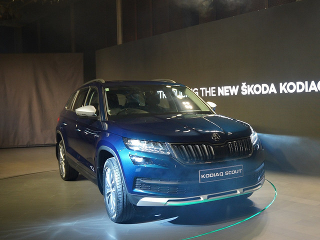 Skoda Kodiaq Scout Launched; Priced At Rs. 33.99 Lakhs
