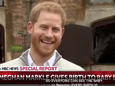 MUST-SEE VIDEO - Prince Harry Speaks For The First Time About His Baby Boy And His Amazing Wife Meghan Markle