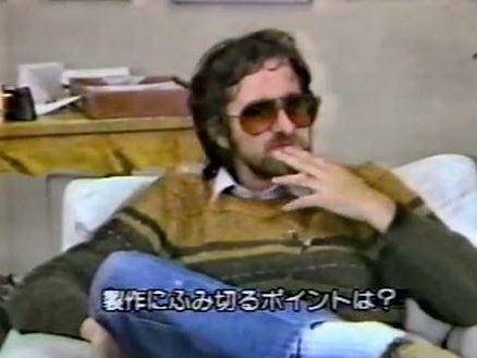VIDEO: RARE STEVEN SPIELBERG & JAPANESE TELEVISION INTERVIEW (CHRISTMAS 1982)