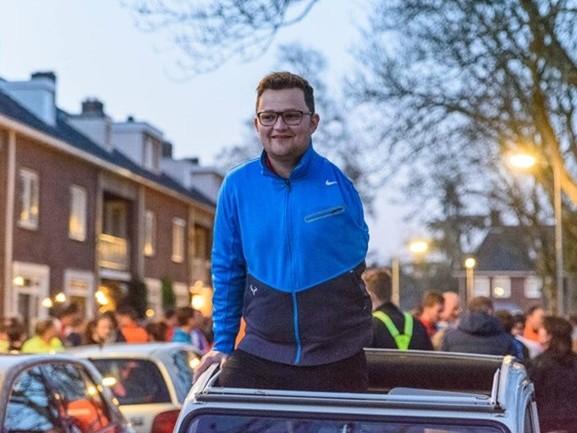 Thijs Kroezen rent laatste rondje voor kankeroperatie, wie rent er mee?