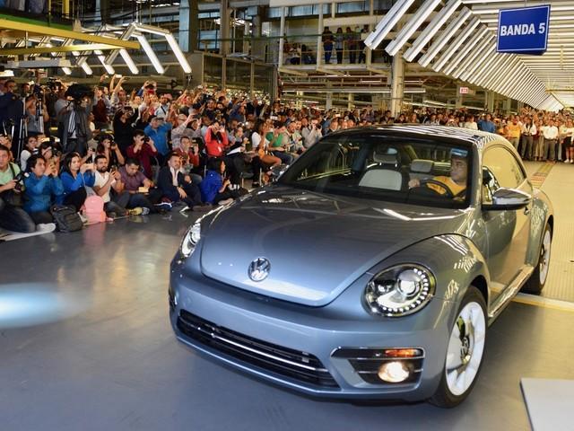Last VW Beetle rolls off the production line