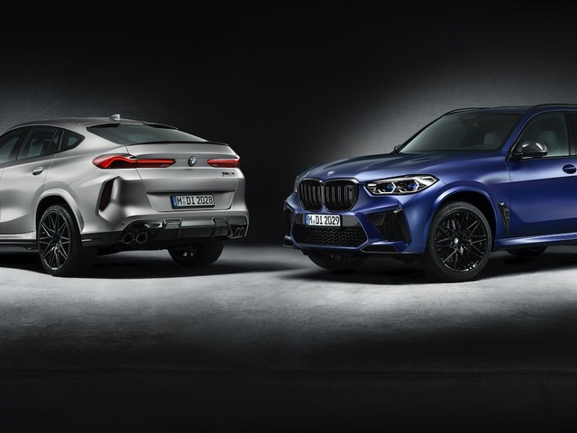 BMW X5 M and X6 M Competition First Editions revealed