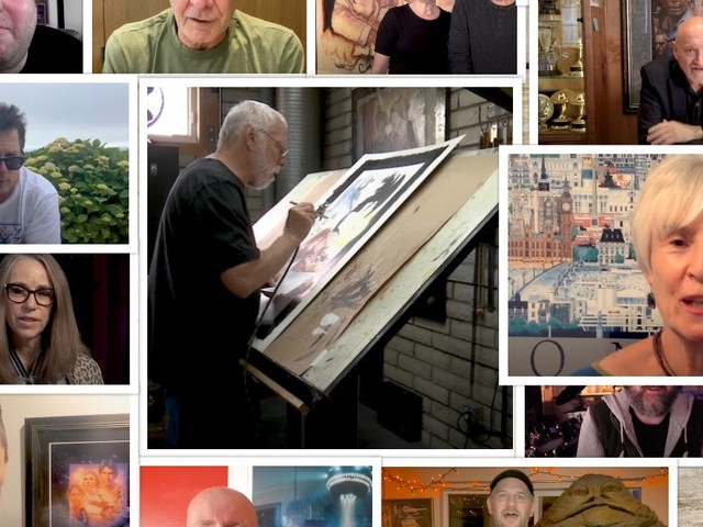 VIDEO: DREW STRUZAN - SOCIETY OF ILLUSTRATORS HALL OF FAME CONGRATULATORY REEL