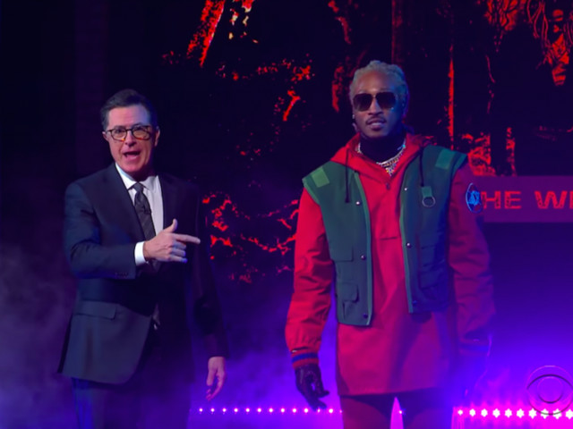 "Future Performs ""Crushed Up"" on 'The Late Show'"