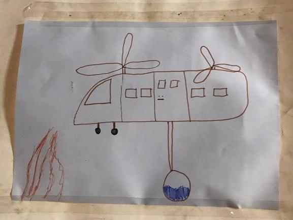 Kinderen bedanken de brandweer voor het bestrijden van de Peelbrand: 'Jullie zijn helden'