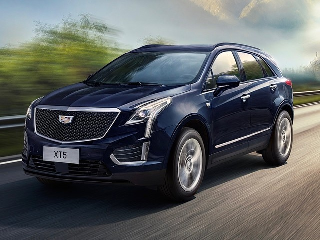Restyled 2020 Cadillac XT5 debuts in China