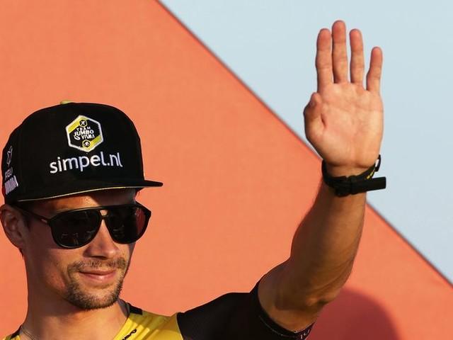 Zwart-geel is ook in Vuelta de favoriet