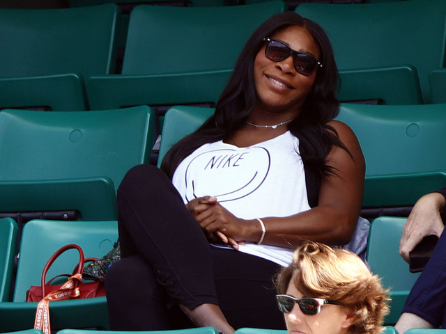 Celebrity Seeds: Sleeping Beauty Serena Williams Cuddles Up With Little Alexis Olympia