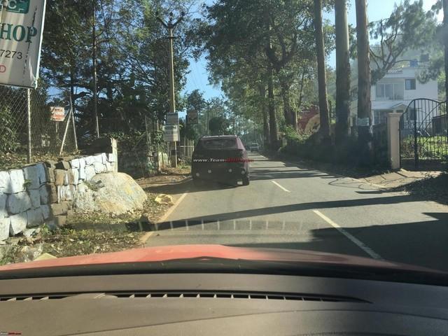 Hyundai Creta Facelift Spied On Indian Roads