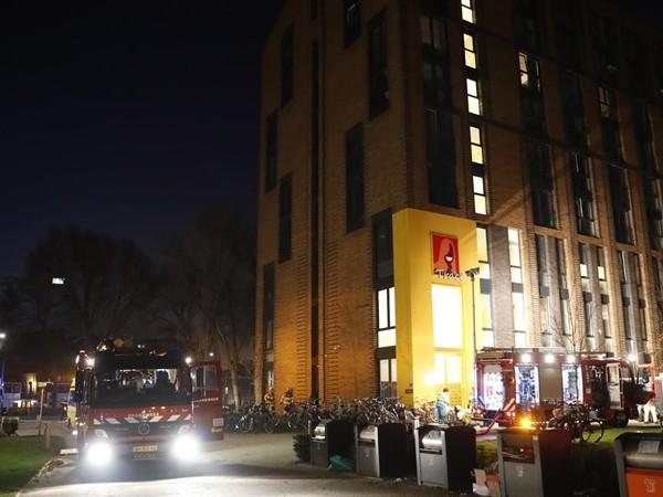 Slachtoffer na brand in wooncomplex Tracé Zwolle