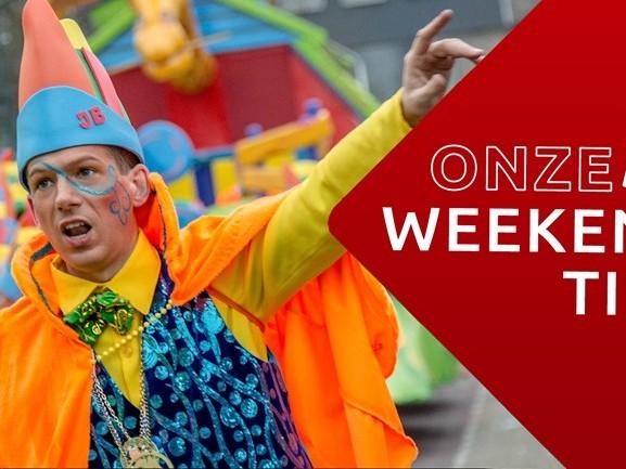 Vroeg carnavallen of toch naar de tuinbeurs? 5 kleurrijke weekendtips
