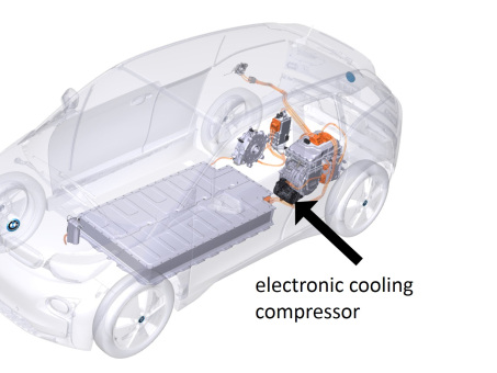 BMW seeking quiet cooling technologies for fast charging of EVs