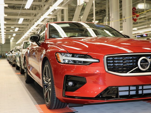 Volvo is now exporting the S60 from the US to Europe