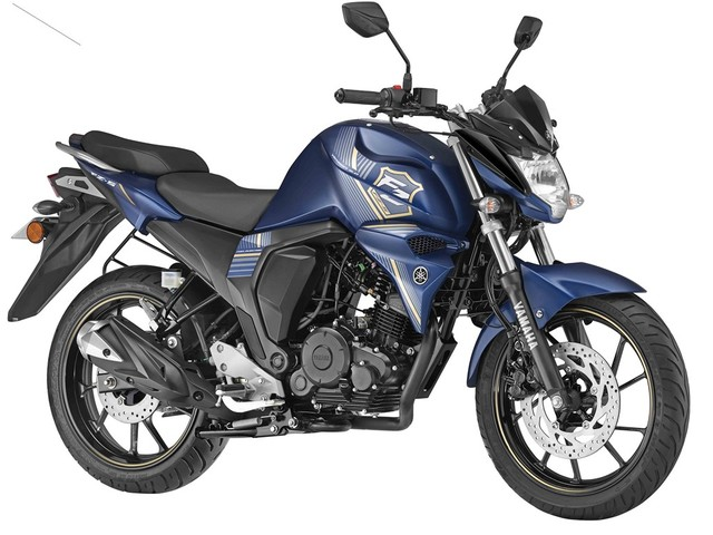Yamaha FZ-S Rear Disc Launched, Priced At Rs. 86,042/-