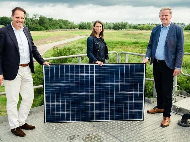 Start aanleg van 17.000 zonnepanelen voor waterschap Hollandse Delta