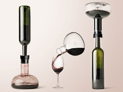 This Chic Decanter Makes Sure You Won't Spill A Single Drop