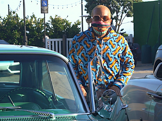 Anderson Paak Pulls Up To Nobu In His '63 Impala
