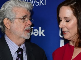 Kathleen Kennedy Reveals George Lucas Whispers Star Wars Advice From Time To Time