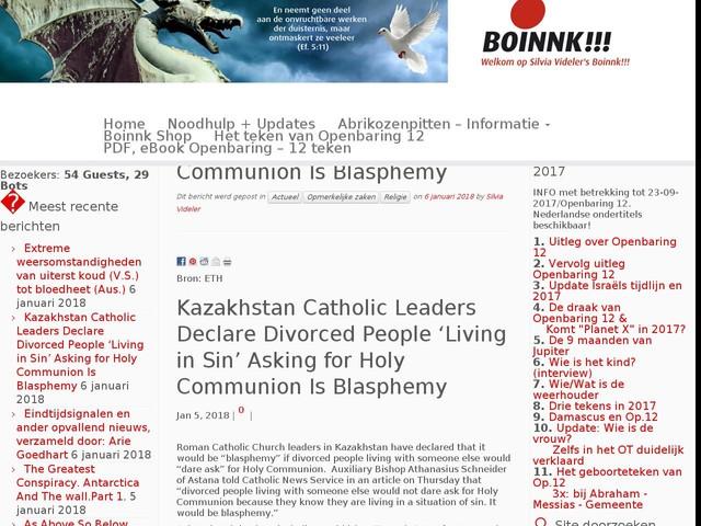 Kazakhstan Catholic Leaders Declare Divorced People 'Living in Sin' Asking for Holy Communion Is Blasphemy