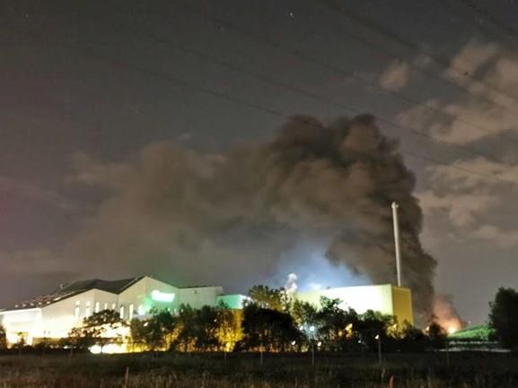 Brand bij afvalverwerker Twence ontstaan door kortsluiting in ventilator