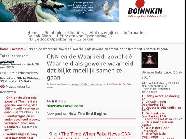 CNN en de Waarheid, zowel dé Waarheid als gewone waarheid, dat blijkt moeilijk samen te gaan