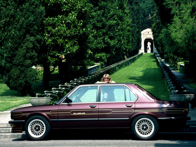 BMW ALPINA B7 Turbo/3 of the E28 series: A rare automotive gem