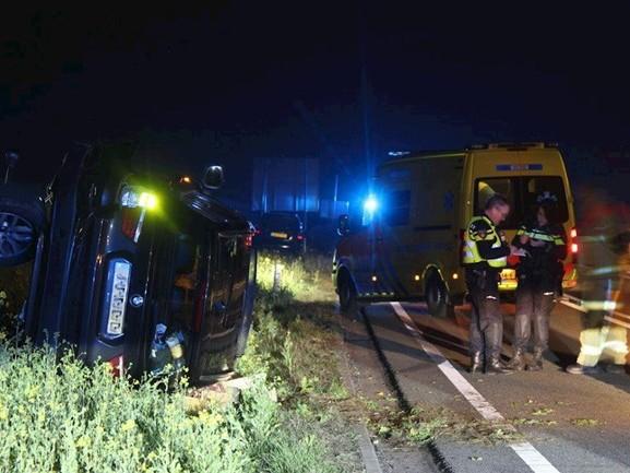 Twee gewonden bij frontale botsing N35 Nijverdal