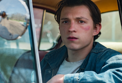 "What In Tarnation??? Tom Holland Defends His Family From Hellish Hillbillies In Disturbing New Trailer For ""The Devil All The Time"""
